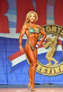 Ryall Graber  all'Arnold Classic 2014 : Fitness International